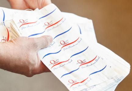 Verpackung, Gläser und Etiketten